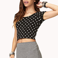 Sweet Dots Crop Top