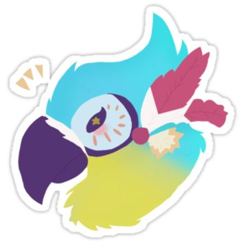'Kass (Breath of the Wild)' Sticker by SnowingRivers