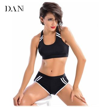 Women Fitness Yoga Set Breathable Bra Elastic Trousers Sports Gym Steel Pipe Dance Clothes Bikini Set Bathing Suit