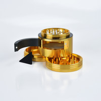 Grinder W/side Hatch - Rascador con ventana 63mm