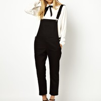 Little White Lies Skinny Twill Overalls