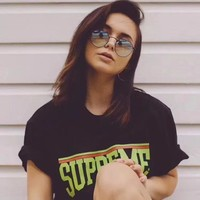 """ Supreme "" Women Simple T-shirt"