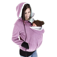 Fashion Multifunctional Clothes for Pregnant Women Autumn/Winter Sweatshirts Zipper Baby Carrier Sweatshirt Maternity Wear Hoody