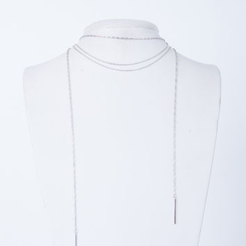 Twisted Chain Choker Necklace
