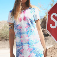 Casual Print Beach  Dress