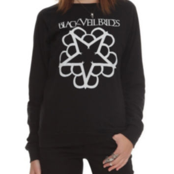 Black Veil Brides Logo Girls Pullover Top