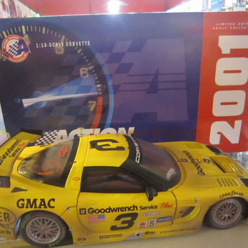 1:8- SCALE CORVETTE LIMITED EDITION ACTION COLLECTIBLES