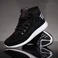 """Adidas"" Men Sport Casual Fashion Wear-resistant Mid High Help Basketball Shoes Sneakers Boots"
