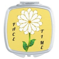 """Face Time"" Compact Mirror"