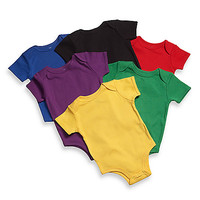 Little Tots Bright Solid Bodysuits