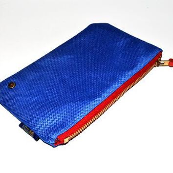Quincy Clutch (Cobalt)