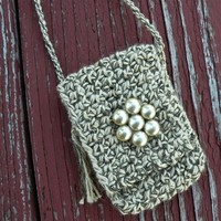 Refinement - An Earthy and Elegant Spirit Pouch - Handmade with Love