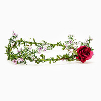DailyLook: Rose Garland Headband