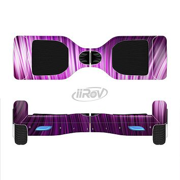 The Pink Vector Swirly HD Strands Full-Body Skin Set for the Smart Drifting SuperCharged iiRov HoverBoard