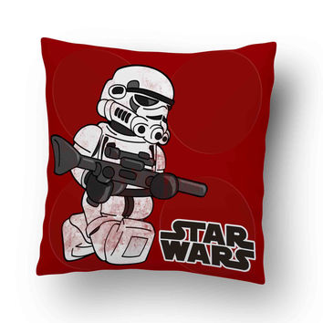 Star Wars Stormtrooper Lego Pillow Cover