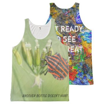 Another bottle does not hurt All-Over print tank top