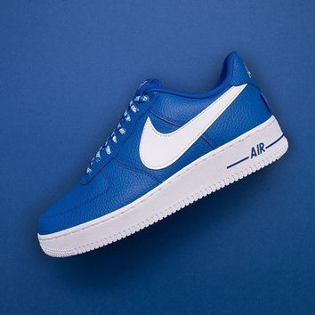 NBA x Nike Air Force 1 AF1 NBA White Blue 82351103