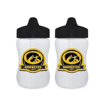 Iowa Hawkeyes NCAA Sippy Cup (2 Pack)