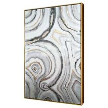 "Geode Framed High Gloss Canvas 40""x25"" - Threshold™"