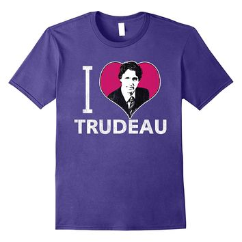 I Heart Trudeau Dark T-Shirt