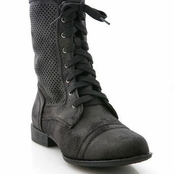 Tarnished Combat Boots
