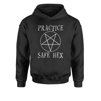 Practice Safe Hex Youth-Sized Hoodie