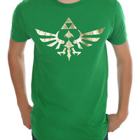 Nintendo The Legend Of Zelda Gold Triforce T-Shirt