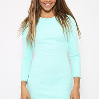 Harper Sleeved Dress - Green
