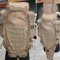 Outdoor Sports Molle Tactical Airsoft Paintball Rifle M4 Carbine Shotgun Bag Hunting Gun Backpack