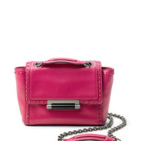 440 Mini Faceted Stud Leather Bag