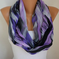Infinity Scarf Shawl Circle Scarf  Loop  Scarf Gift -fatwoman