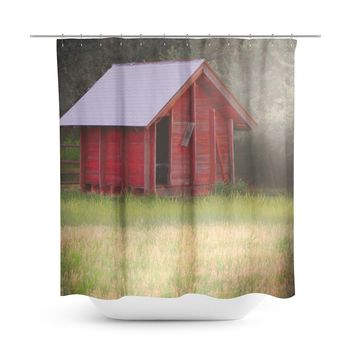 Country Glimmer Shower Curtain