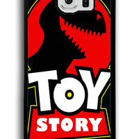 Jurassic Park Toy Story Funny Logo for Samsung Galaxy S6 Hard Cover Plastic