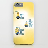 MINION LIFE: RULES iPhone & iPod Case by Ylenia Pizzetti | Society6