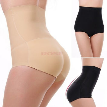 Sexy Women High Waist Buttock Underwear Hip Enhancer Shaper Padded Brief Panties Jeans clothes SV006634 = 1652217284