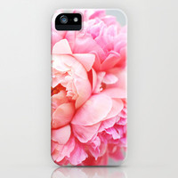 Peonies Forever iPhone & iPod Case by Creature Comforts