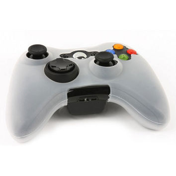 Newest Colorful Joystick Gel Skin Silicone Cover Case for XBOX 360 Wireless Controller Protective case Boys Game Accessories
