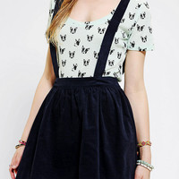 Urban Outfitters - Coincidence & Chance Corduroy Suspender Skirt