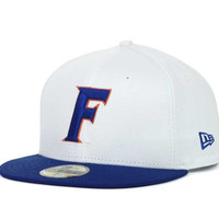 Florida Gators NCAA White 2 Tone 59FIFTY Cap
