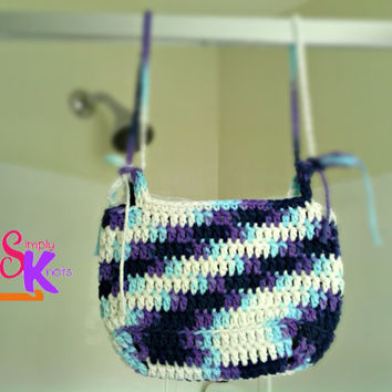 Crochet Hanging Organizer Pattern, Shower Rod Shampoo Holder, Childrens Toy Basket, Fathers Mothers Day Gift, Household Cleaning Pattern