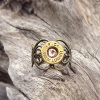 Bullet jewelry. Bullet ring