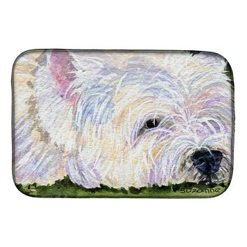 Westie Dish Drying Mat SS8831DDM