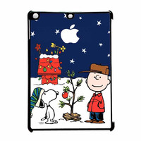 Snoopy And Charlie Brown Christmas Lights Apple iPad Air Case