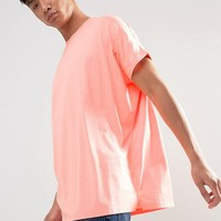 ASOS Super Oversized Roll Sleeve T-shirt at asos.com