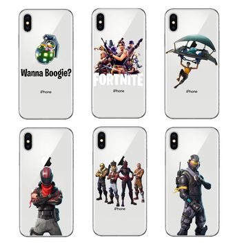 Game Fortnite Battle Royale Unicorn Soft Silicone TPU Phone Case Cover For iPhone SE 5 5S 6 6s Plus 7 7 Plus 8 8 Plus X 10 Coque 1