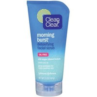 Clean & Clear(R) Morning Burst(Tm) Detoxifying Facial Scrub Cleansers 5 Oz - Walmart.com