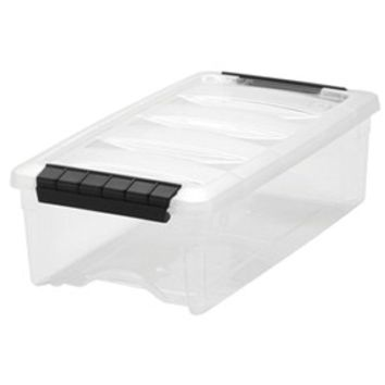 Clear Plastic Storage Box - Extra Small