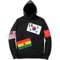 Supreme: Flags Pullover - Black