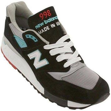 ICIKGQ8 new balance m998 men round toe suede sneakers