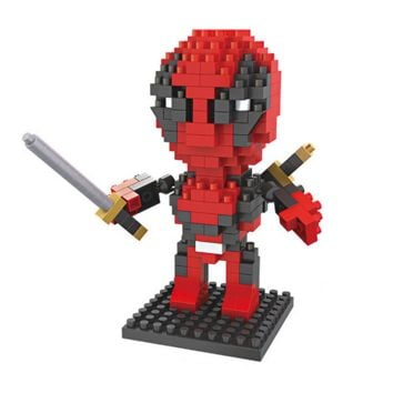 Deadpool Mini Action Figure Super Hero